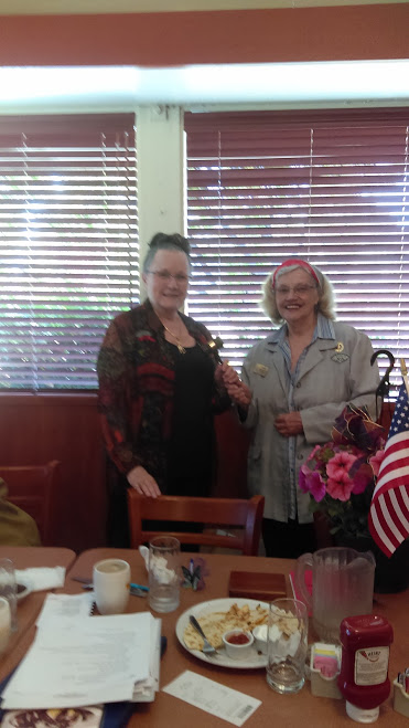 Las Donas Past President Woman's Club
